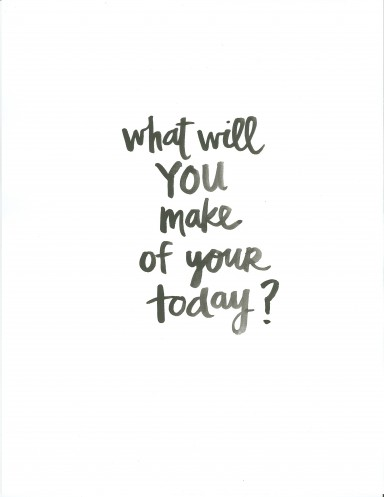 What+will+YOU+make+of+your+today