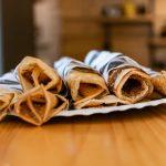 Naleśniki pełnoziarniste z czterech składników, które zawsze masz w domu! (typ 1850)